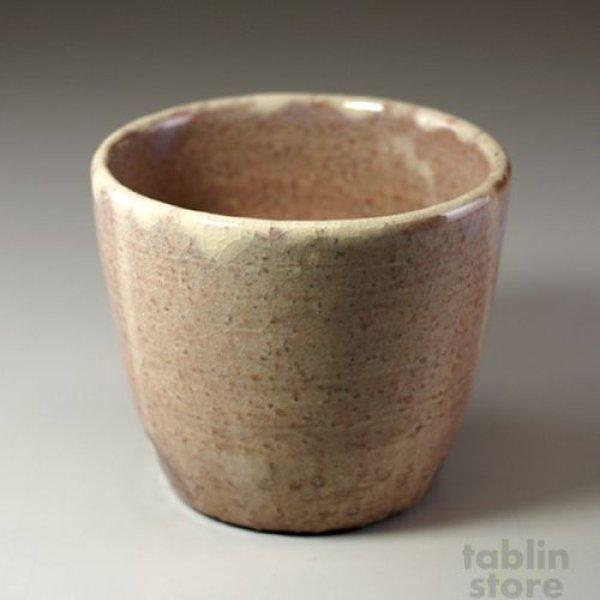 Photo2: Hagi Senryuzan climbing kiln Japanese pottery tumbler Sobachoko hai ni set of 2