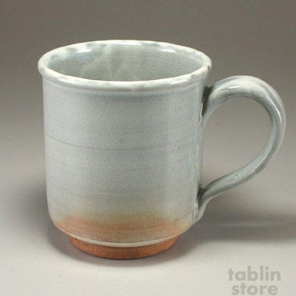 Photo1: Hagi Senryuzan climbing kiln Japanese pottery mug coffee cup kamahen ni