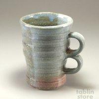 Hagi Senryuzan climbing kiln Japanese pottery mug coffee cup nite roku
