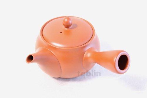Other Images3: Tokoname yaki ware Japanese tea pot morimasa red syudei ceramic tea strainer 360ml