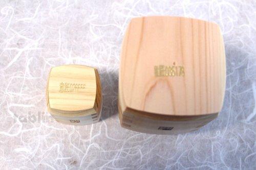 Other Images2: Takumi Kaku Japanese wooden Sake bottle & cups hinoki cypress set of 4 Gift
