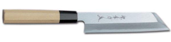 Photo2: SAKAI TAKAYUKI Chef Ginsan Japanese knife Silver-3 steel Mukimono knife 180mm