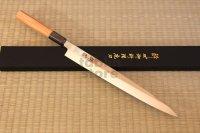 Suisin Inox Honyaki Swedish Inox Stain-Resistant Steel Sashimi Yanagiba, Deba any size
