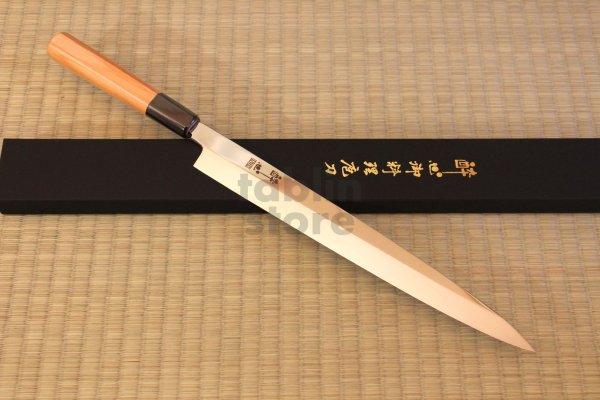 Photo1: Suisin Inox Honyaki Swedish Inox Stain-Resistant Steel Sashimi Yanagiba, Deba any size