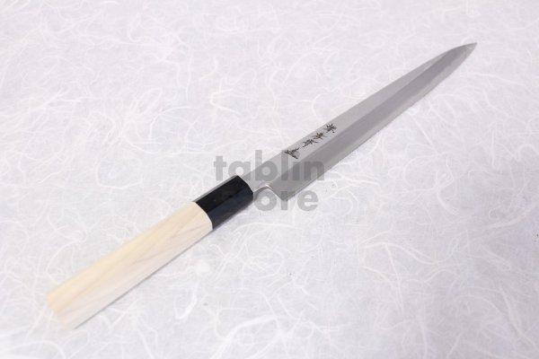 Photo2: SAKAI TAKAYUKI Chef Ginsan Japanese knife Silver-3 steel Sashimi Yanagiba
