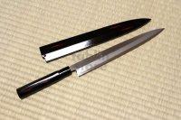 SAKAI TAKAYUKI Shikisai Akebono sashimi yanabiba inox with scheide any size