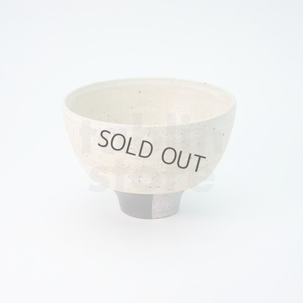 Photo2: Kiyomizu porcelain Japanese matcha tea bowl chawan Daisuke kobiki iroe black