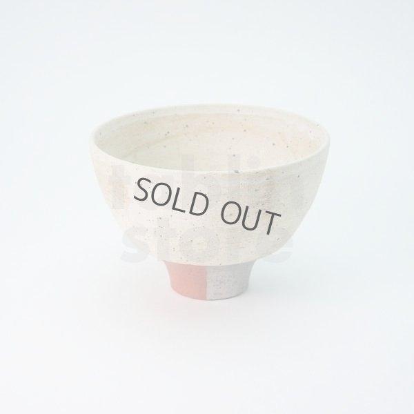 Photo2: Kiyomizu porcelain Japanese matcha tea bowl chawan Daisuke kobiki iroe red