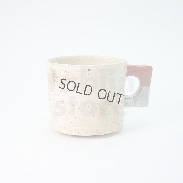 Photo1: Kiyomizu porcelain Japanese tea mug coffee cup Daisuke kobiki iroe red
