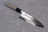 SAKAI TAKAYUKI Japanese knife Tokujou Yasuki white-2 steel Deba any size