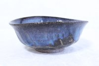 Hagi ware Japanese Serving bowl Airyuu Oval W190mm