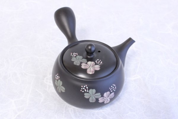Photo1: Tokoname yaki ware Japanese tea pot Shujyu lf ceramic tea strainear 280ml