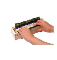 Japanese Natural Wooden yc Japanese sushi roll tool set W26cm
