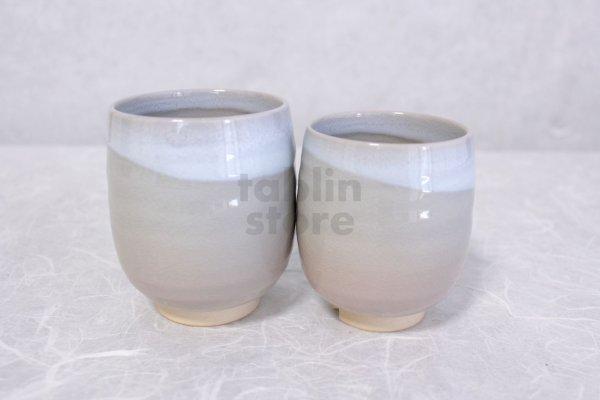 Photo2: Hagi yaki ware Japanese tea cups pottery Himetuchi Maru