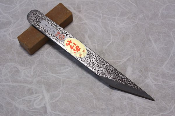 Photo2: Kiridashi knife Japanese kogatana Woodworking Okeya Yasuki white 2 steel any size