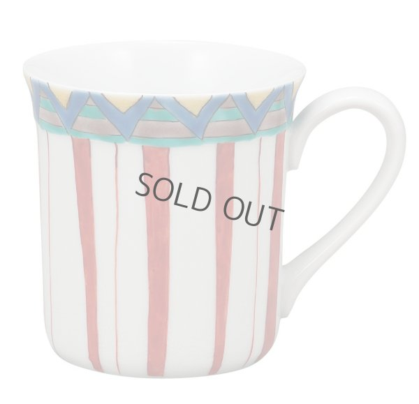 Photo1: Kutani Porcelain Japanese mug coffee tea cup gosai D 8cm