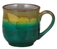 Kutani Porcelain Japanese mug coffee tea cup ginzanchaka D 8cm