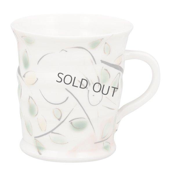 Photo1: Kutani Porcelain Japanese mug coffee tea cup usagi D 8cm