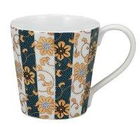 Kutani Porcelain Japanese mug coffee tea cup aoshirotessen D 8cm