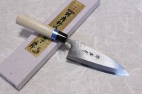 SAKAI TAKAYUKI INOX stainless Magnolia wood Japanese Deba knife