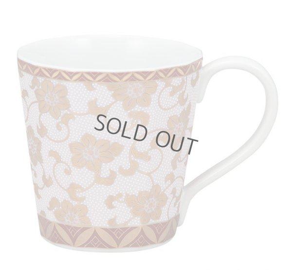 Photo1: Kutani Porcelain Japanese mug coffee tea cup tessenka D 8.2cm