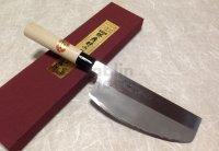 SAKAI TAKAYUKI Japanese knife Kasumitogi Yasuki white steel Sushi kiri