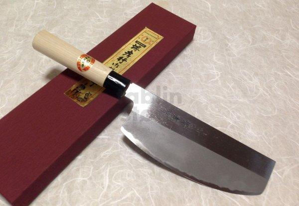 Photo1: SAKAI TAKAYUKI Japanese knife Kasumitogi Yasuki white steel Sushi kiri