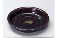Japanese Echizen Urushi lacquer Serving bowl chinkin matsu kashiki ryu D24cm