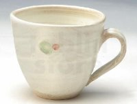Shigaraki ware Japanese pottery tea mug coffee cup kobiki line hai 300ml