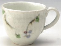 Shigaraki ware Japanese pottery tea mug coffee cup kobiki berry ren 280ml