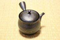 Tokoname ware Japanese tea pot kyusu ceramic strainer YT Shoryu tenmoku 270ml