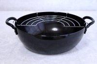 Wahei Japanese TEMPURA IRON Flying Pan fritter Pot D20cm