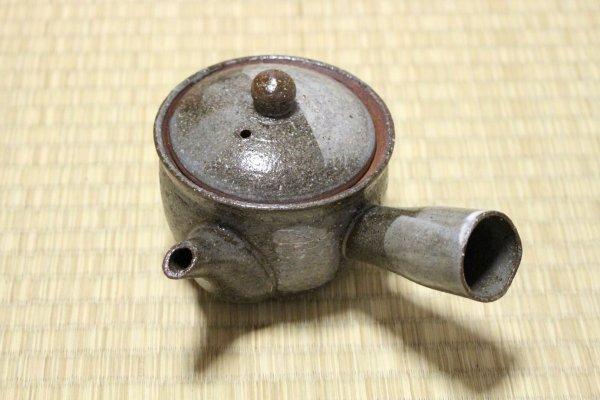 Photo1: Shigaraki Japanese tea pot kyusu tsutinone pottery tea strainer 230ml