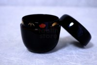 Tea Caddy Japanese Natsume Echizen Urushi lacquer Matcha container uchi plum
