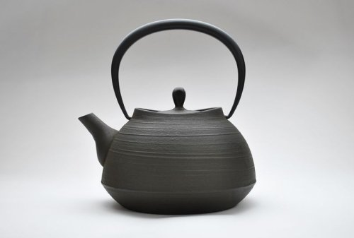 Other Images1: ITCHU-DO HAKEME Japanese Cast Iron tea Kettle Nambu Tetsubin 1300ml