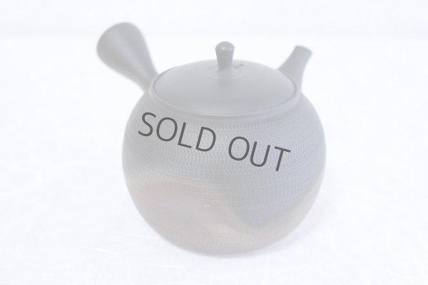 Photo2: Tokoname Japanese tea pot kyusu Gyokko ceramic tea strainer roulette yohen 500ml