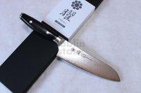 Yaxell YO-U VG-10 69 layer Damascus canvas-micarta Japanese Santoku knife 165mm