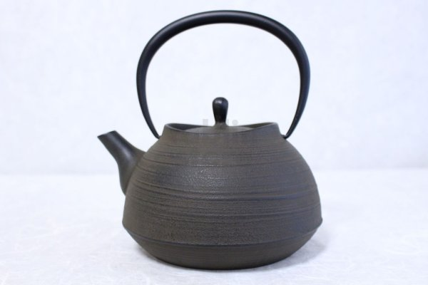 Photo1: ITCHU-DO HAKEME Japanese Cast Iron tea Kettle Nambu Tetsubin 1300ml