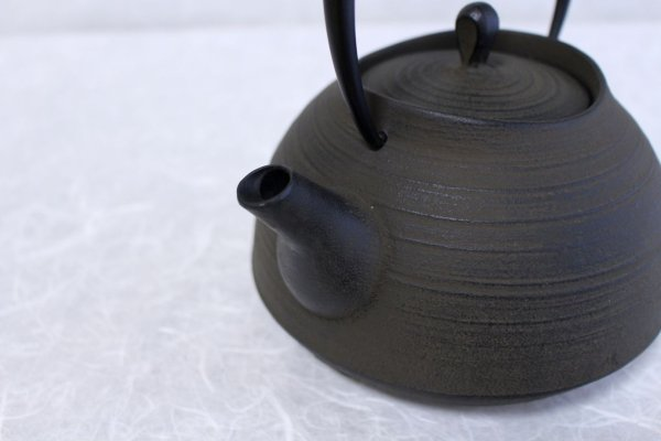 Photo2: ITCHU-DO HAKEME Japanese Cast Iron tea Kettle Nambu Tetsubin 1300ml