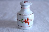 Arita imari sd Porcelain Japanese soy sauce bottle hanameguri  100ml
