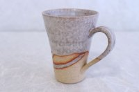 Shigaraki ware Japanese pottery tea mug coffee cup tansetsu white snow 360ml