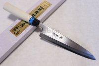 SAKAI TAKAYUKI INOX stainless Magnolia wood Japanese Mioroshi deba knife