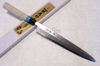 SAKAI TAKAYUKI INOX stainless Magnolia wood Japanese Sashimi Yanagiba knife