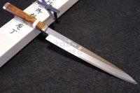 Shiden SAKAI TAKAYUKI Sashimi Yanagiba knife Yasukisilver-3 steel