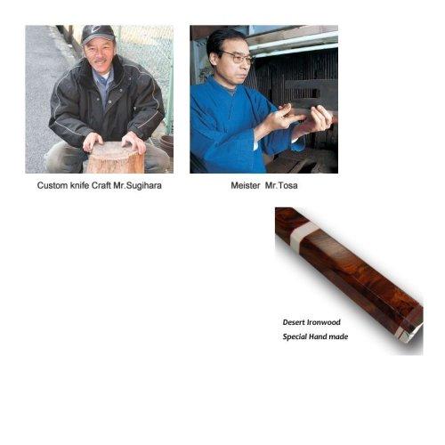 Other Images1: Shiden SAKAI TAKAYUKI Sashimi Yanagiba knife Yasukisilver-3 steel