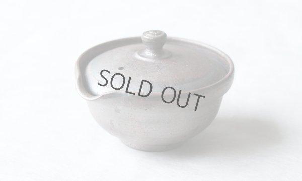 Photo1: Shigaraki pottery Japanese tea pot kyusu Hohin shiboridashi ginryo 120ml