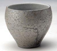 Shigaraki Japanese pottery sake cup tumbler tsuchi daruma yohen 320ml