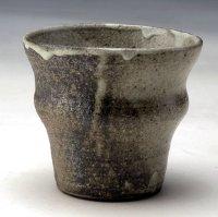 Shigaraki Japanese pottery sake cup tumbler tsuchi fushi 250ml
