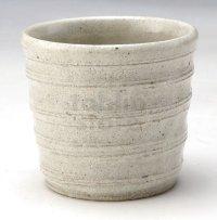 Shigaraki Japanese pottery sake cup tumbler tsuchi asagiri kobiki 250ml