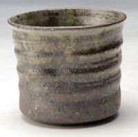 Shigaraki Japanese pottery sake cup tumbler tsuchi fudo 320ml